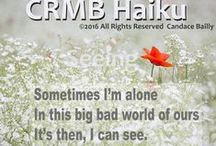 CRMB Haiku. / poems, poetry, ideas, mine...