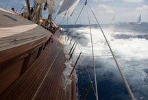 Sailing.  Sailboats. / All things on the sea.