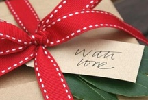 Gift wrapping / by Sandy Hoover