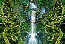 Morrigan: Woman Warrior/ Divine Feminine / Woman Warrior/ Divine Feminine / by SABINA RUTH