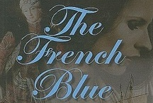 Le French Bleu / French Blue is a deep azure color.  The first use of French  blue in English was in the Times of 1802. / by Rhonda Russell