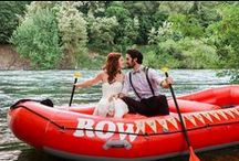 Mountain Weddings / Tips, ideas and resources for planning your dream wedding in the great outdoors of the wild mountains. / by ROW Adventures