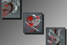 """Peintures abstraites Collection Au bout des Rêves"""" / Dans la Collection, la Peintre aime à créer de la différence sur certaines de ses toiles en les accentuant avec des empâtements plus prononcés. Conservant toujours ses sources d'inspiration au limite de l'abstraction lyrique, elle transpose ses émotions au travers d'un mouvement rythmé et harmonieux cherchant toujours à faire partager sa passion. Site officiel : http://www.mapeinturesurtoile.com"""