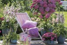 Garden Living / Inspirational garden living spaces