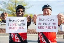 Tour de Cure / Tour de Cure is the American Diabetes Association's signature fundraising cycling event: http://diabetes.org/tour
