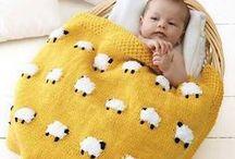 ☆ Blankets ☆ / crochet - homemade blankets - DIY - couvertures tricot, tissus et crochet - plaids