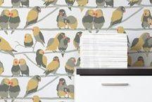 ☆ wallpapers ☆ / papier-peint - wall decor - tapisserie