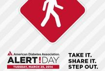 """American Diabetes Association Alert Day / American Diabetes Association Alert Day is a one-day """"wake-up call"""" asking the American public to take the Diabetes Risk Test to find out if they are at risk for developing type 2 diabetes. Held on the fourth Tuesday of every March, the next Alert Day will take place on Tuesday, March 24, 2015. / by American Diabetes Association"""