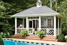 Pools and Pool Houses / There are a few more pretty pools on My Ideal Home board:) / by Alice Waters