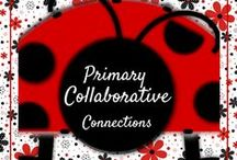 Primary Collaborative Connections K-2 / Join...make friends...share ideas...post products! This board is a fun way to collaborate and promote products! Just send  your e-mail to looneyslitblog@gmail.com and I'll connect you!