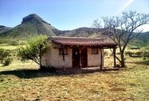 Small + Adobe Houses / Small houses, guest houses,  adobe, sheds