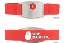 Medical IDs / Medical ID bracelets can be a lifesaver in an emergency. Show your support and #StopDiabetes with our medical ID bracelets and jewelry collection. / by American Diabetes Association