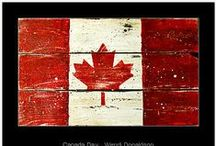 Canada - My Home / I am so blessed to be born and raised in Canada. I love this country!