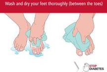 Foot Care / Don't Let Diabetes Knock You Off Your Feet!