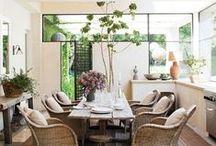 interiors | dining / by Kendra Stephenson