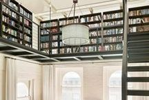 interiors | office + library / by Kendra Stephenson