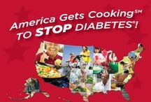 America Gets Cooking to Stop Diabetes / Get cooking with us for American Diabetes Month, November 2014: http://diabetesforecast.org/adm #AmericaGetsCooking #DiabetesMonth