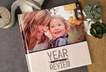 Year in Review / Favorite moments from years past- baby's first steps, best DIY project, sister's wedding, family rafting trip. A little bit of everything. / by Mixbook