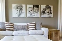 Canvas Print Inspiration / Beautiful home decor and how to showcase them. http://www.mixbook.com/canvas-prints / by Mixbook