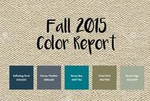 Fall 2015 Colors / The official colors of the 2015 fall season! / by Mixbook