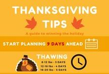 Thanksgiving Must Haves / Tips, tricks, and tries for your Thanksgiving festivities.  / by Mixbook