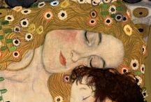 Gustav Klimt / Art is a line around your thoughts. Gustav Klimt