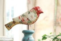 Bird Art and Decor / by Loralea Kirby