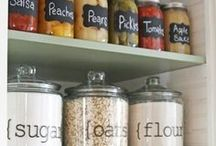 Pantry and shelves