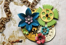 Steampunk Jewelry / The coolest Steampunk Jewelry around! / by Happy Mango Beads