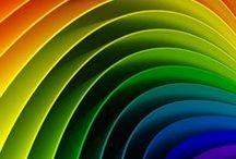 Rainbows / ...life is the colors among the b&w of existing... :-))