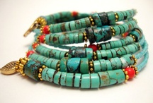 Turquoise Jewelry / by Happy Mango Beads