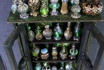 Ornate Perfume Bottles