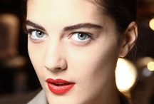 Red Lips / Red lips are to makeup what the little black dress is to fashion. Red lips have and will remain a classic look.  Take a look at some of our favorite red lip looks for inspiration!