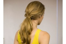 Ponytails / Ponytails aren't just for the gym anymore! We love these chic and stylish options!  / by glo Professional Brands