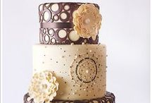 "All Things {Wedding cakes} / inspiring wedding cakes, wedding dessert bars and other sweets we say ""i do"" to!"