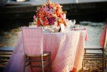 Pink + Blush Weddings / All variations of pink wedding ideas