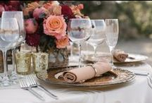 "Fall Weddings / Autumn hues and lovely weather create a perfect time of year to say ""I Do"""