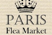 PARIS FLEA MARKET / by Zhenne Wood