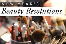 New Year's Beauty Resolutions / These are our New Year's beauty resolutions that we are vowing to follow this year for healthy, glowing skin.