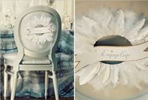 Silver and Grey Weddings / Silver and grey wedding and event decor.
