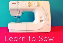 Sewing: Teaching Kids