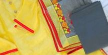 Indian Fashion / Indian fashionable stuff, from fabrics to bag, quilts, home decor, apparels, etc. Be inspired!