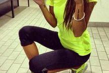 Clothes: sport wear