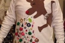Ugly Christmas sweater ideas / by Amanda Selley