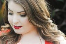Valentine's Day Makeup / Fun and flirty Valentine's Day makeup looks using glo minerals mineral makeup.