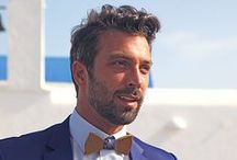 """Gentlemen Experts! @Thodoris Theodoropoulos #look2 / The Experts of Atelier Zolotas highlight the latest suit trends, tips and details to get you that """"cruise-chic"""" look!"""