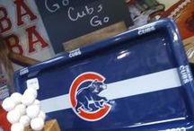 Go Cubs! / You can always count on The Little Traveler for local sports & college team spirit gear - including the Cubbies!