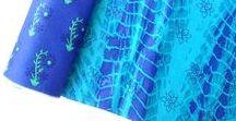 INDIAN TIE DYE  SHIBORI FABRICS / Collections of Indian Tie & Dye / Shibori Fabrics, Printed Shibori  www.chezviessupplies.etsy.com shop.chezvies.com