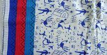 KALAMKARI & FOLK ARTS / Collections of Fabrics with Folk Art, Warli, Tribal, Alphabet and Unique Indian Print www.chezviessupplies.etsy.com  -  shop.chezvies.com