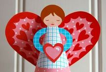 valentines day inspiration, crafts and ideas